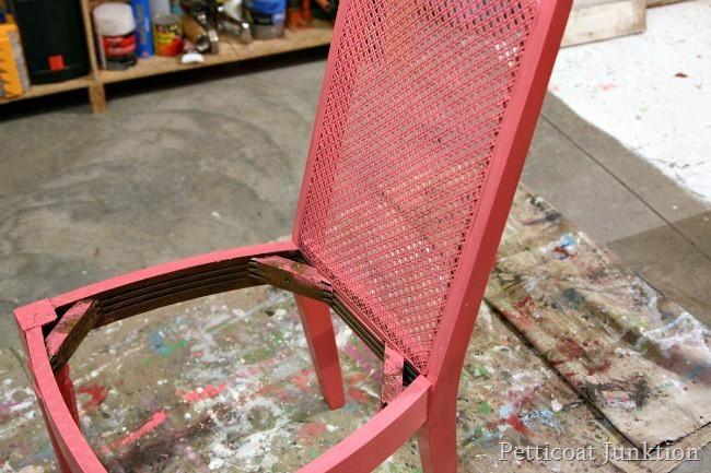chair paint project Petticoat Junktion