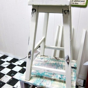 Distressing White Furniture | Workshop Project