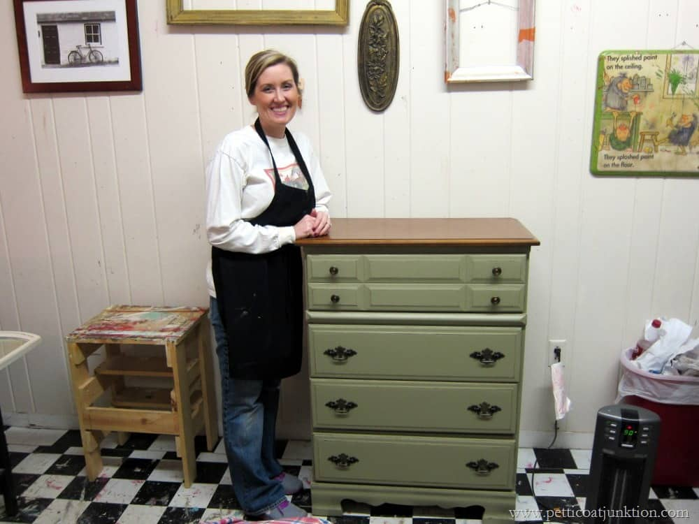Four Furniture Projects Finished In One Day Petticoat