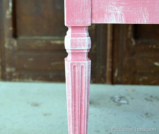 dry brush paint petticoat Junktion