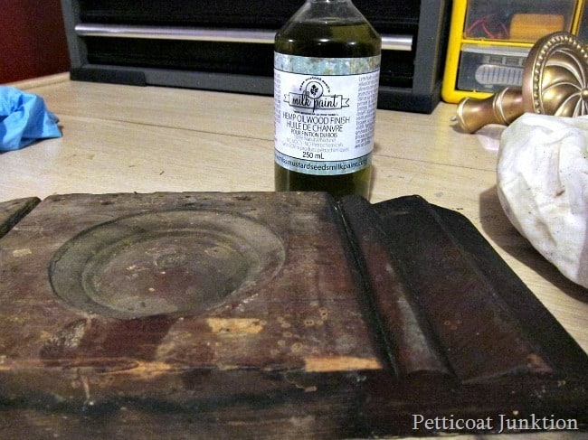 hemp oil restores wood finish Petticoat Junktion