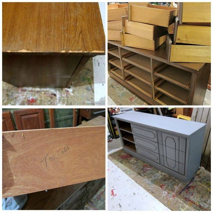 how to paint furniture step by step