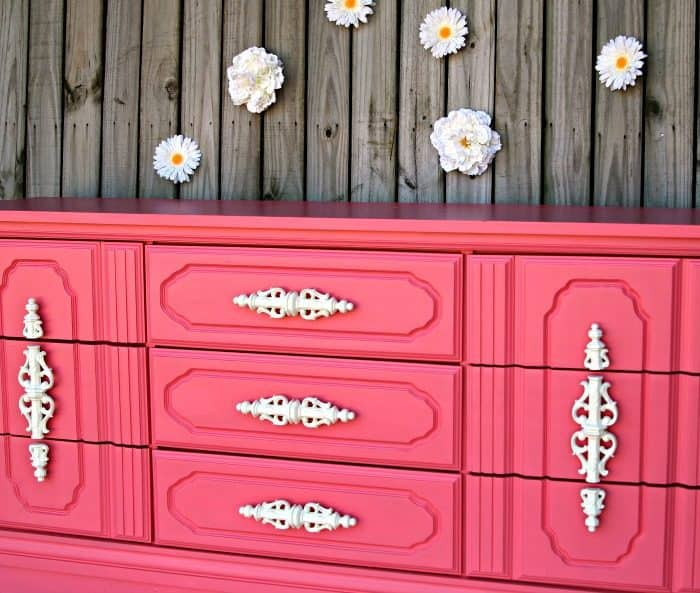 painted nursery furniture coral paint color