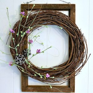 Super Simple Super Fast DIY Grapevine Wreath