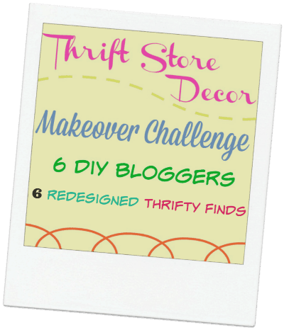 thrift store decor makeover challenge