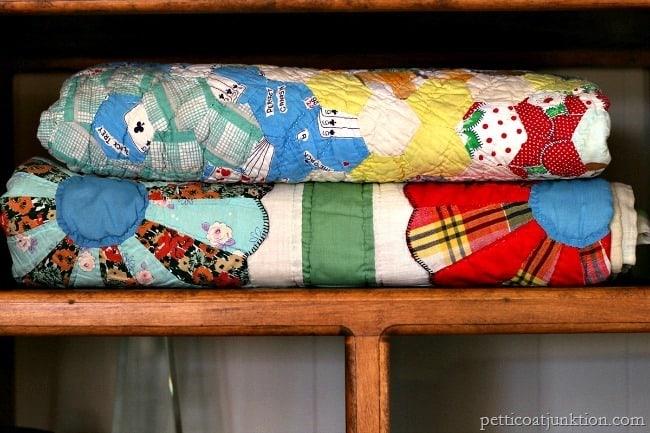 vintage quilts Petticoat Junktion
