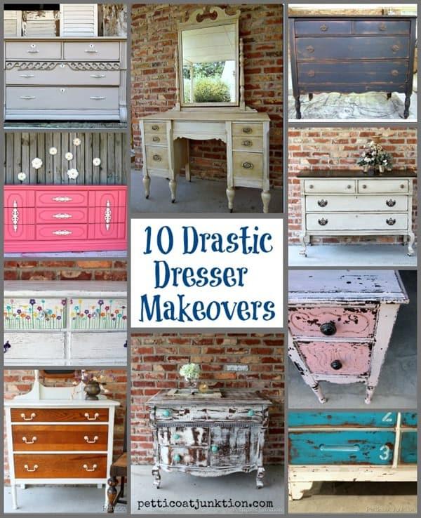 10 Drastic Dresser Makeovers Petticoat Junktion