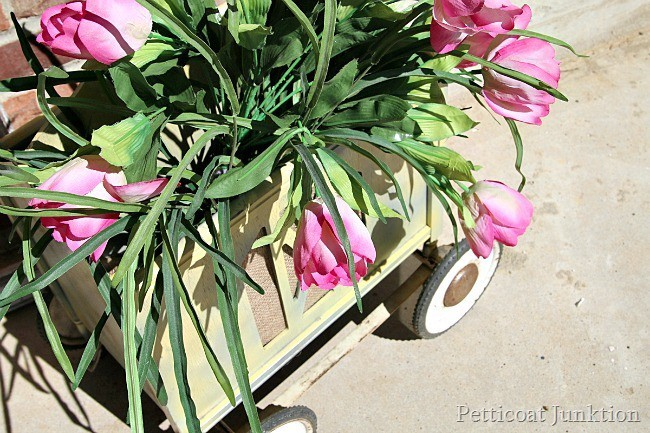 Magazine Rack Flower Planter Petticoat Junktion