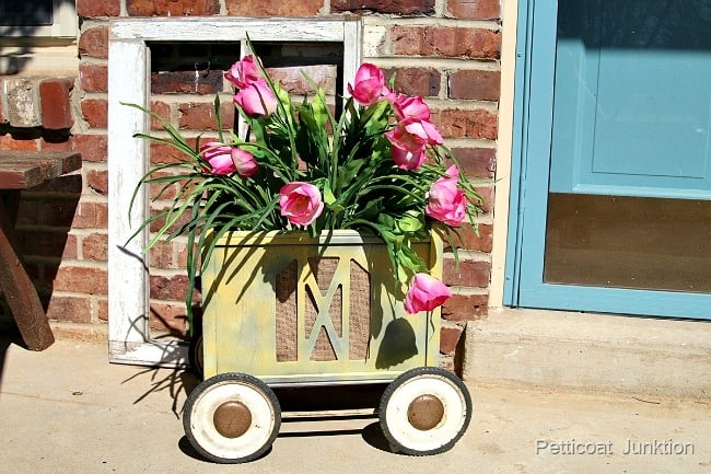 Magazine Rack Planter Petticoat Junktion