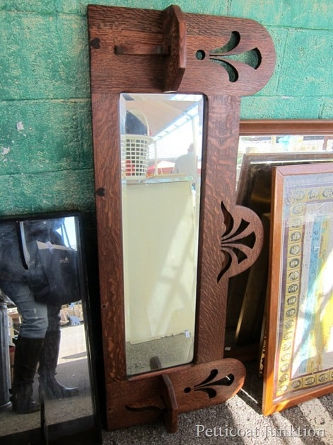 antique mantel Nashville Flea Market Petticoat Junktion shopping trip