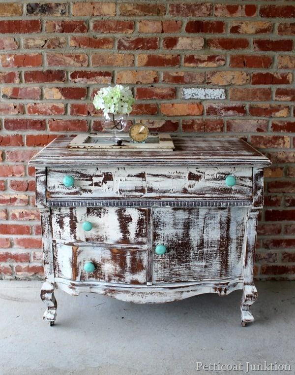 distressed diva drastic furniture makeover Petticoat Junktion