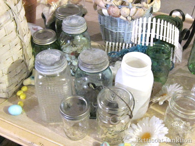 mason jar collection Petticoat Junktion project