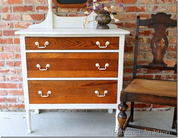 10 Drastic Dresser Makeovers Painted Furniture