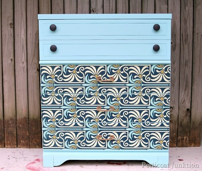 Furniture Makeover Tutorial Petticoat Junktion