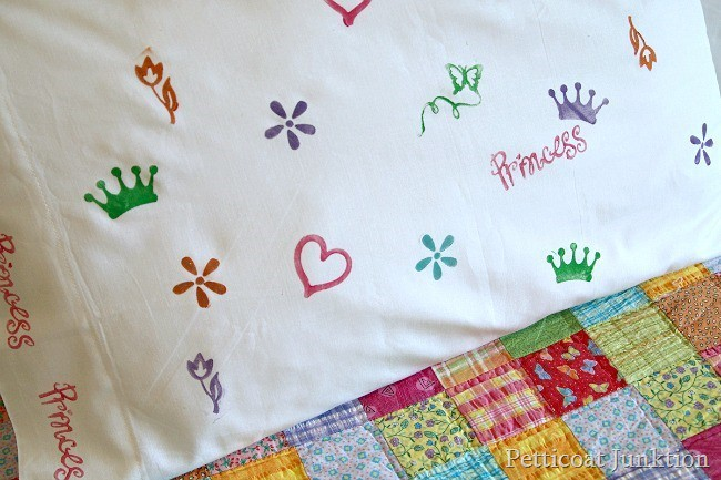 How To Make A Fun Kids Sleepover Pillow Petticoat Junktion
