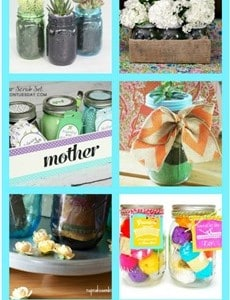12 Mason Jar Crafts & A Giveaway