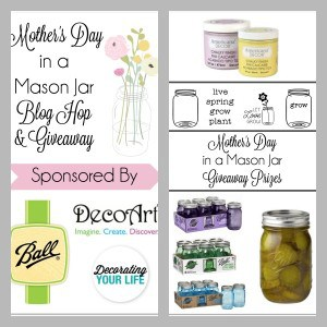 Mother's Day in a Mason Jar Hop & Giveaway Graphic 2