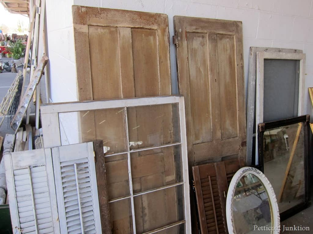 Charming Antique Doors Nashville Flea Market Petticoat Junktion
