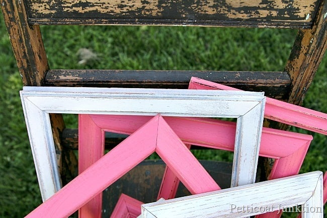 coral picture frames Petticoat Junktion