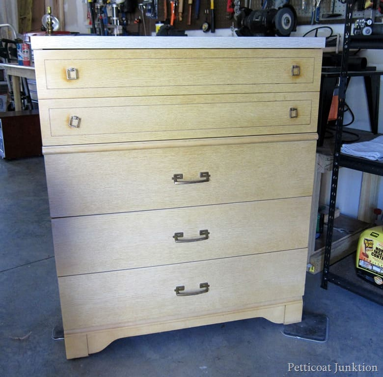furniture makeover project Petticoat Junktion