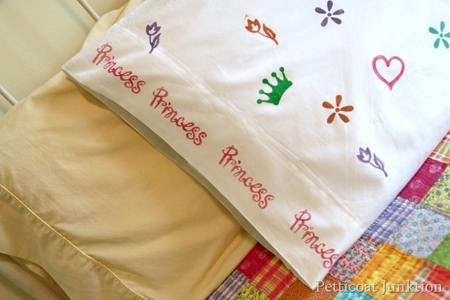 how to make a sleepover pillowcase Petticoat Junktion