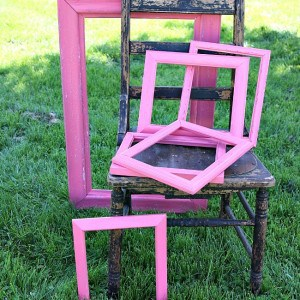 How To Paint Picture Frames By The Dozen