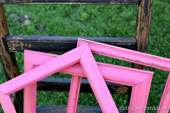 paint a dozen picture frames Petticoat Junktion