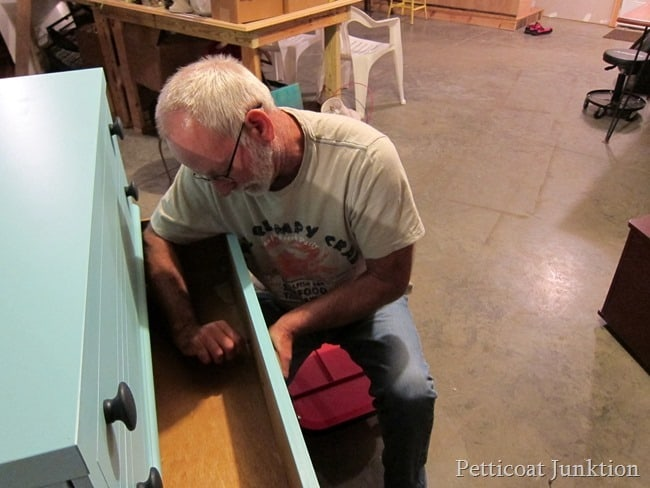 replacing furniture knobs Petticoat junktion