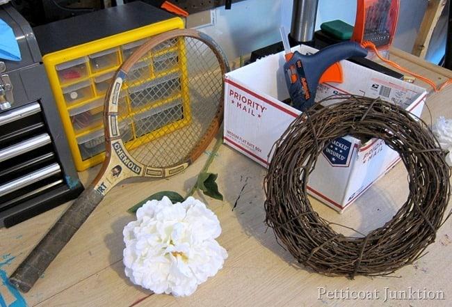 spring wreath craft supplies Petticoat Junktion