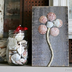 Seashell Flower Art | Seashell Crafts Tour