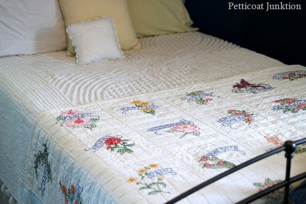 handmade state quilt Petticoat Junktion
