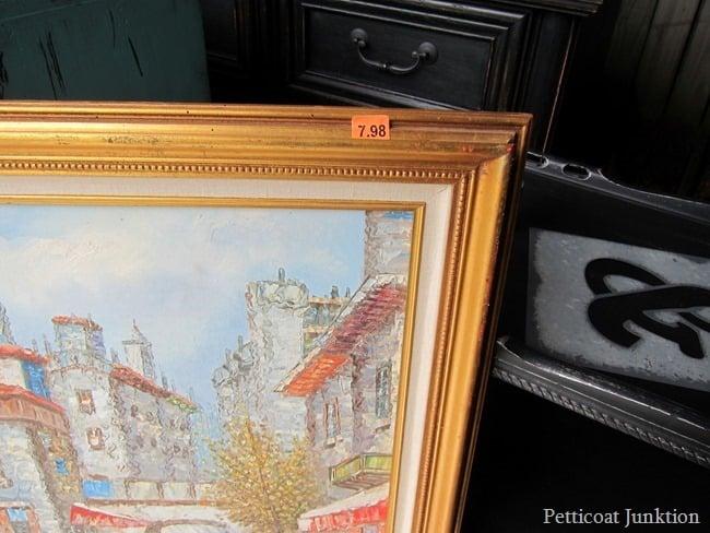 inexpensive framed print