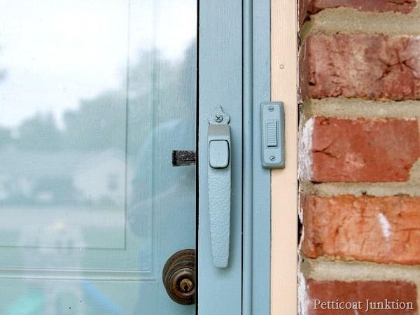 paint front door and storm door