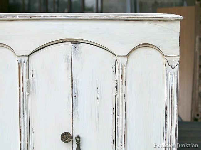 Paint Project Petticoat Junktion White Paint Heavily Distressedjpg