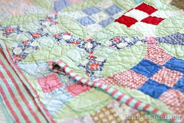 patchwork handmade quilt Petticoat Junktion