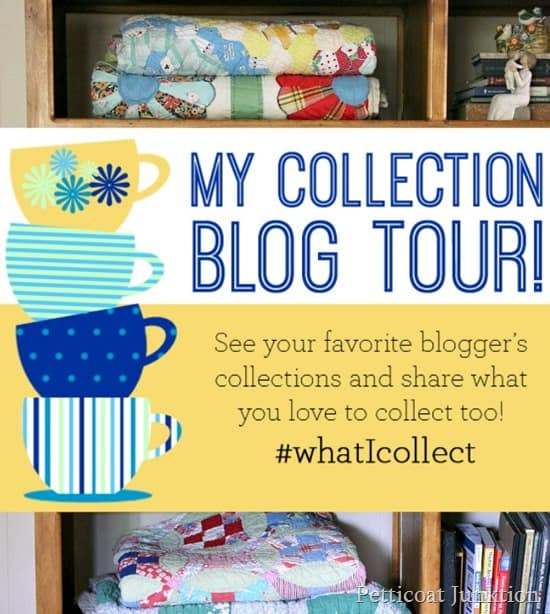quilt display Petticoat Junktion my collection blog tour