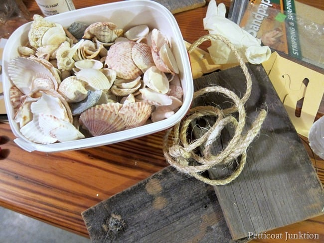 seashell craft supplies Petticoat Junktion