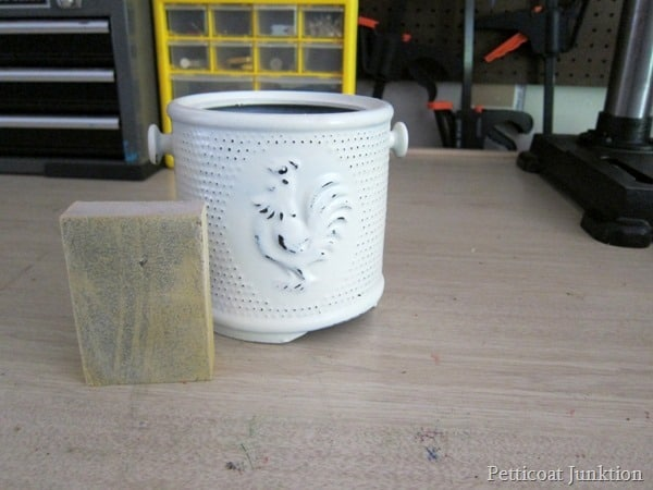 spray paint project Petticoat Junktion