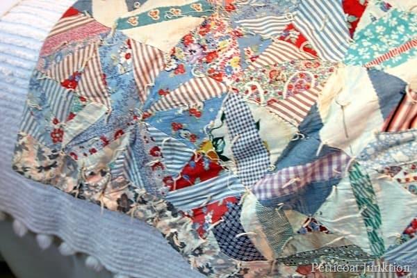 vintage quilt Petticoat Junktion