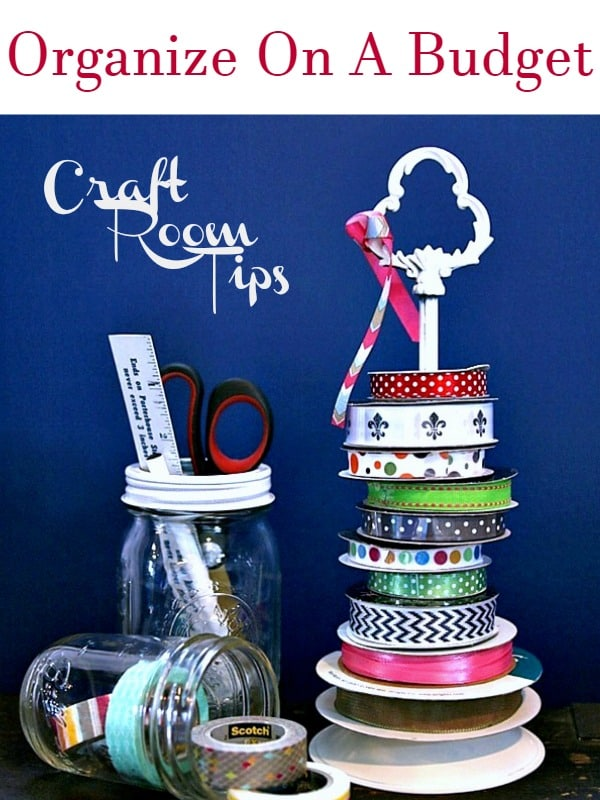 Craft Room Tips Petticoat Junktion Organize on a budget