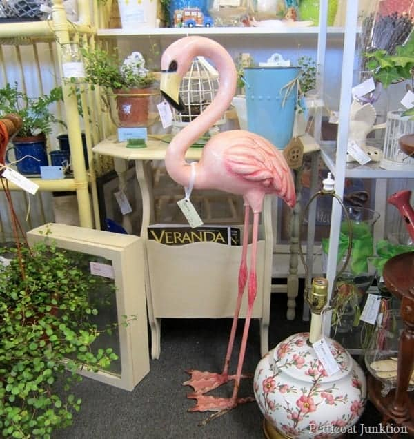 Pink Flamingo Beach Inspired Home Decor at Alyssas Antique Depot 1
