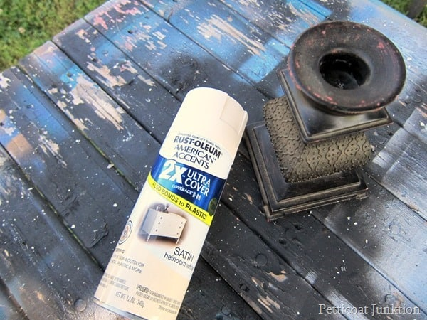 Rustoleum spray paint project