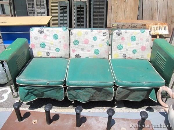 Vintage Furniture at the Nashville Flea Market Bucket List Petticoat Junktion