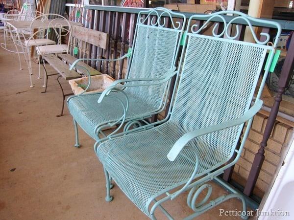 Wrought Iron Chairs Alyssas Antique Depot 4
