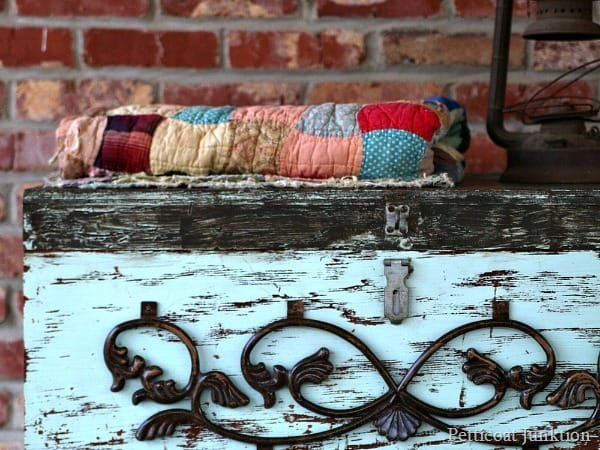 add a second paint color to the mix Petticoat Junktion