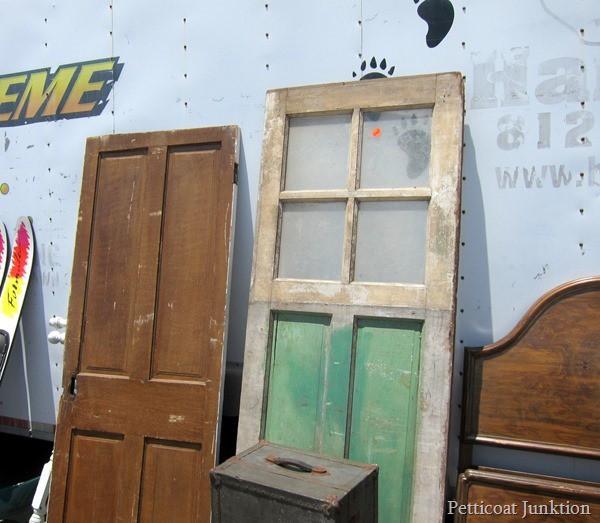 reclaimed doors Nashville Flea Market Bucket List Petticoat Junktion
