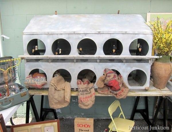 salvage decor Nashville Flea Market Bucket List Petticoat Junktion