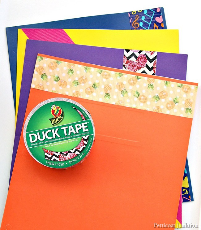 Back to school Duck Brand Project Petticoat Junktion