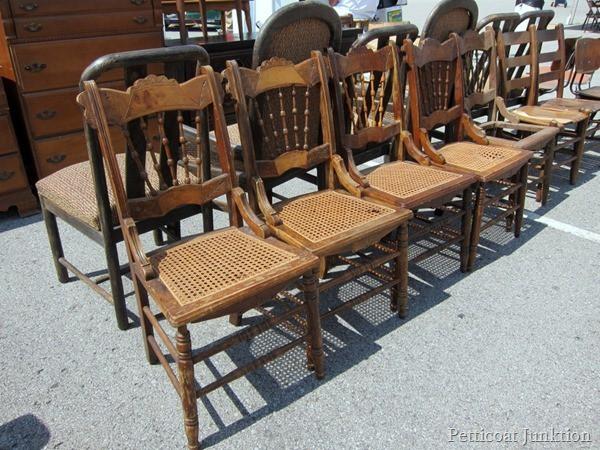 Eastlake Style Chairs Nashville Flea Market Petticoat Junktion