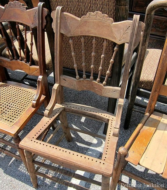 antique chair Nashville Flea Market Petticoat Junktion 1